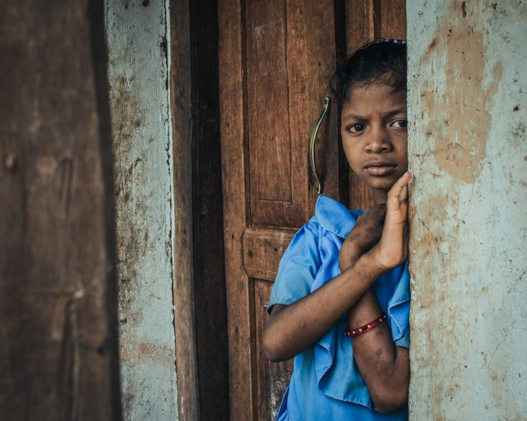 girl, india, kid